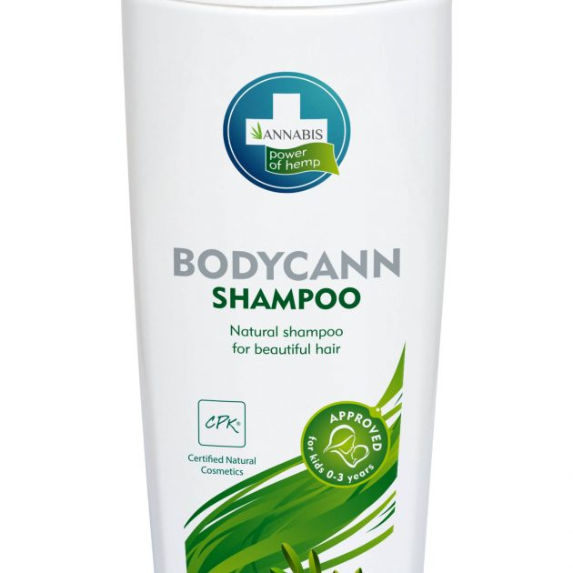 ANNABIS BODYCANN NATURAL HEMP SHAMPOO